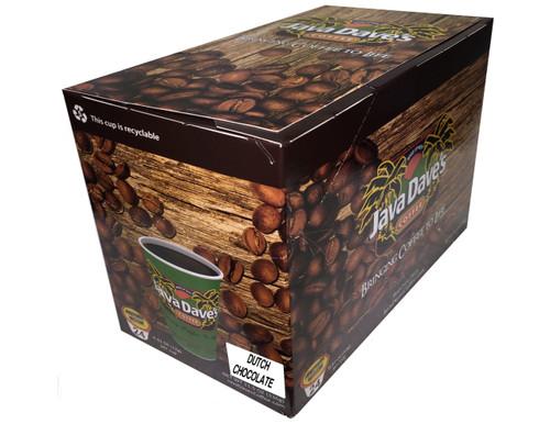 Dutch Chocolate / 24ct Box / Single Cup Coffee