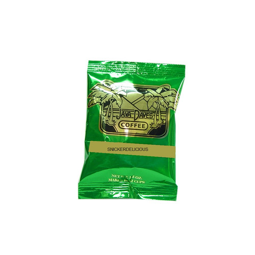 Snickerdelicious / 24ct box / 1.5oz Brews a 10 to 12 cup pot