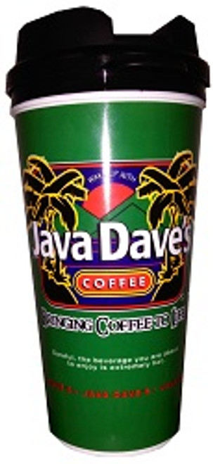 Java Dave's Replica Travel Mug 16oz