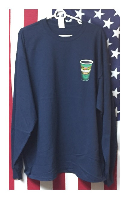"Long Sleeve Java Dave's ""To Go Cup"" T-Shirt Front"