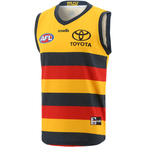 Free Cap Offer ! 2021 Adelaide Crows Replica Clash Guernsey