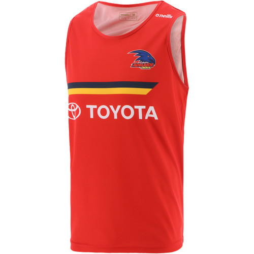 2021 Adelaide Crows Training Singlet Red