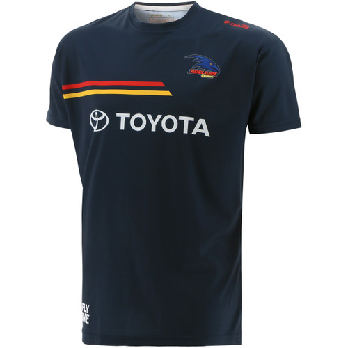 2021 Adelaide Crows Training Tee Navy