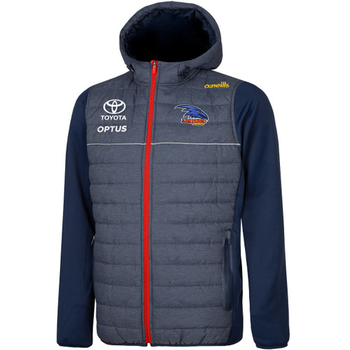 2021 Adelaide Crows Yth Harrison L/Weight Padded Jacket