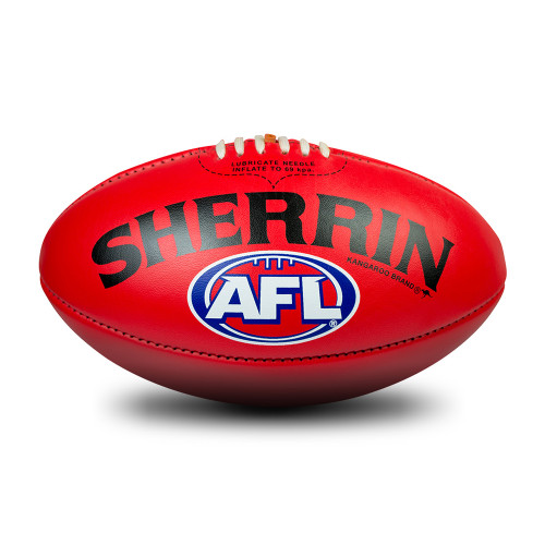 Adelaide Crows Sherrin Red AFL Team Gameball Size 5