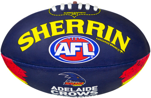 Adelaide Crows Sherrin All Surface Synthetic Size 5