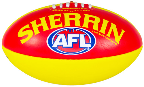 Adelaide Crows Sherrin AFL Grass Surface PVC Autograph Size 3