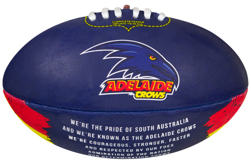 Adelaide Crows Sherrin AFL All Surface Synthetic Song Size 2