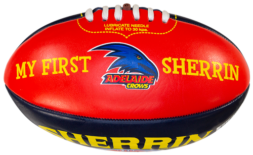 Adelaide Crows Sherrin AFL My First PVC 20cm