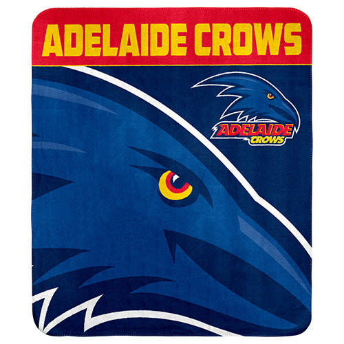 Adelaide Crows Polar Fleece Rug