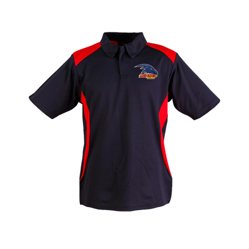 Adelaide Crows Mens Logo Polo