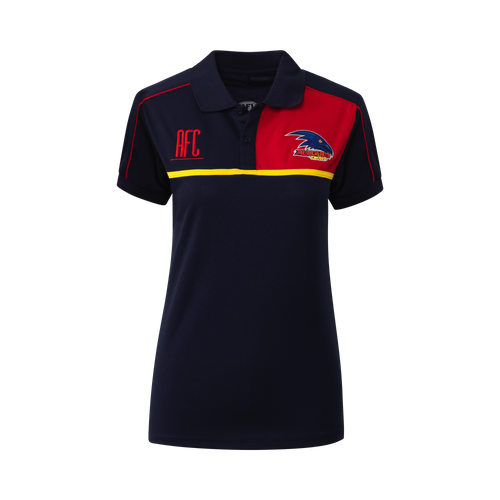 Adelaide Crows Womens Premium Polo