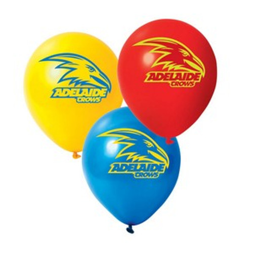 Adelaide Crows Balloons 25 Pk