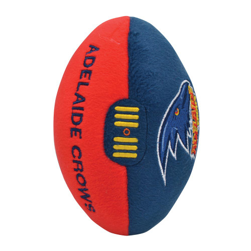 Adelaide Crows Plush Footy 18cm
