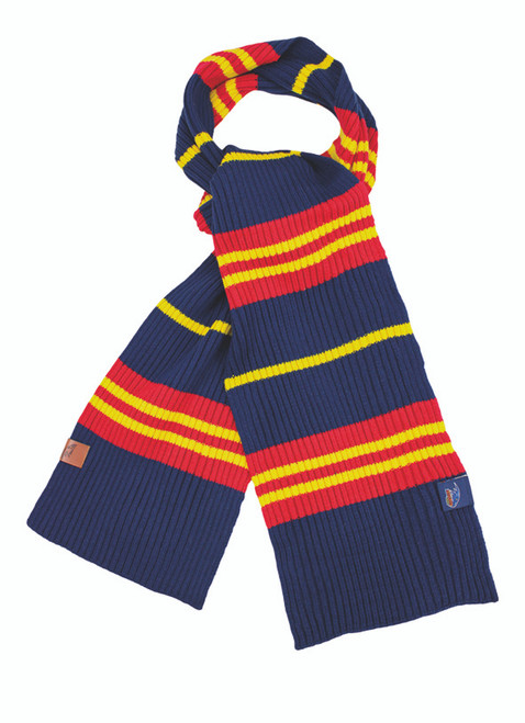 Adelaide Crows Rib Knit Scarf