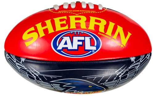 Adelaide Crows Sherrin Softie 20cm