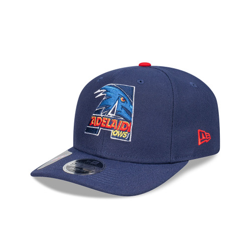 9Fifty NEW ERA CAP ADELAIDE CROWS ORIGINAL FIT LETTER INFILL