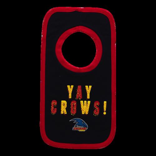 Adelaide Crows 2 Pack Bib Set