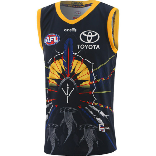 FREE SCARF OFFER ! 2021 Adelaide Crows Youth Indigenous Guernsey