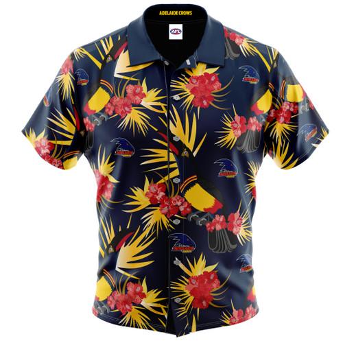 Adelaide Crows Hawaiian Shirt