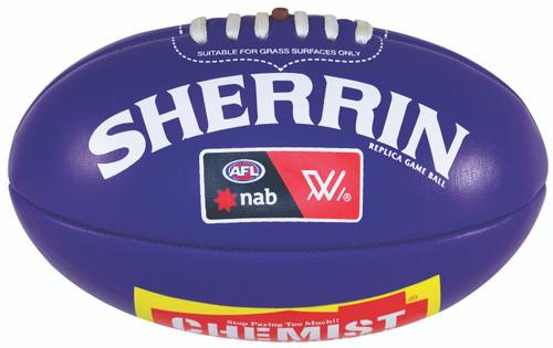 Sherrin AFLW Replica Football 20cm Mini