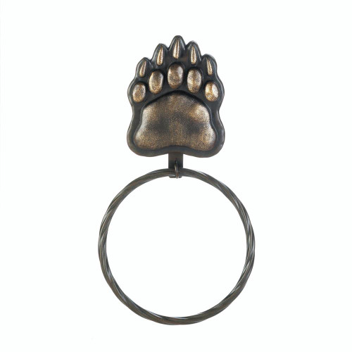 Bear Paw Hand Towel Ring