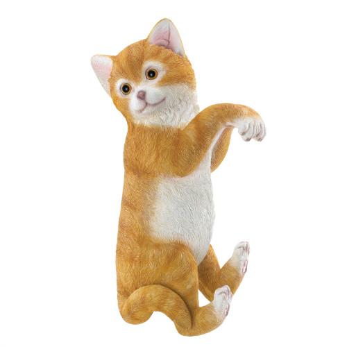 Climbing Cat Figurine