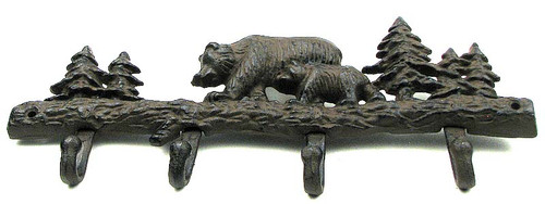 Bear & Cub Wall Hooks