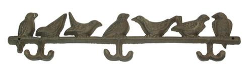 Bird Wall Hooks, Set of 2