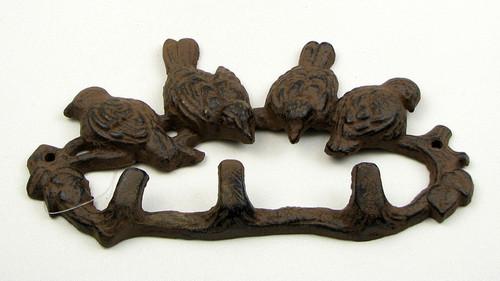 Birds Triple Wall Hook