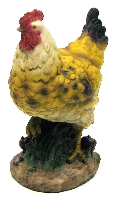 Farm Hen Figurine