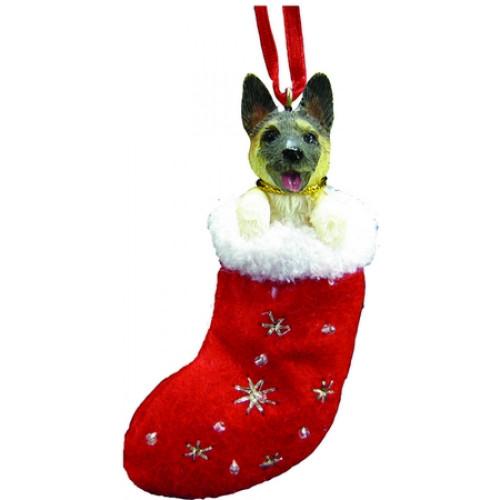Akita Stocking Ornament