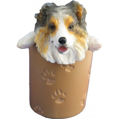Australian Shepherd Pencil Holder