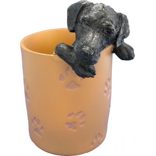 Labrador Retriever, Black Pencil Holder