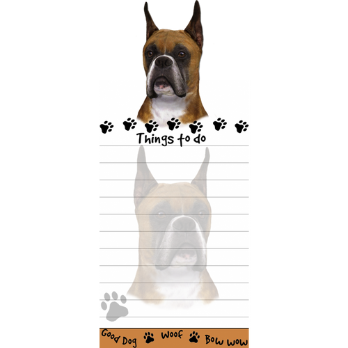 Boxer, Cropped List Pad
