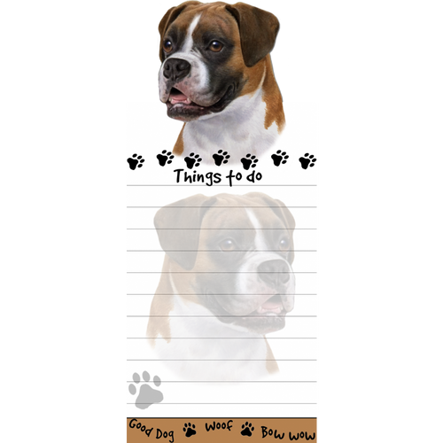 Boxer List Pad