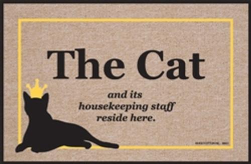 Cat & Housekeeping Staff - Doormat