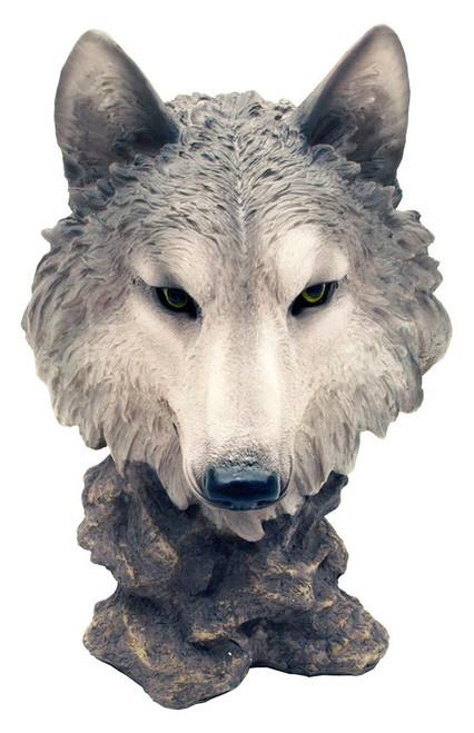 Gosheven Wolf Bust Statue