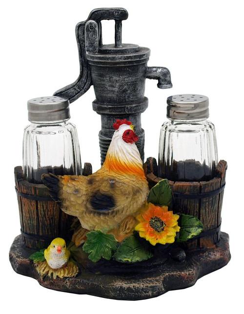 Country Hen & Chick Salt & Pepper Set