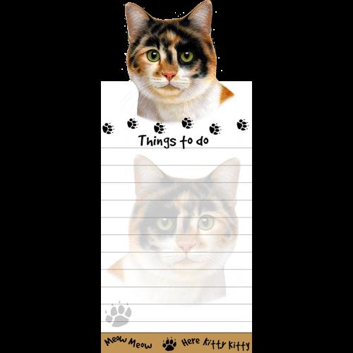 Calico Cat List Pad