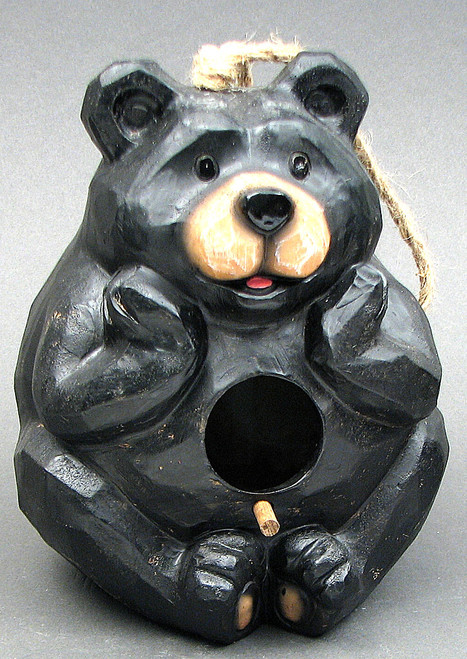 Black Bear Bird House
