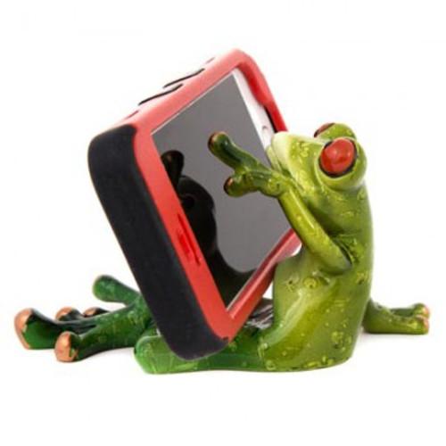 Frog Cell Phone Holder