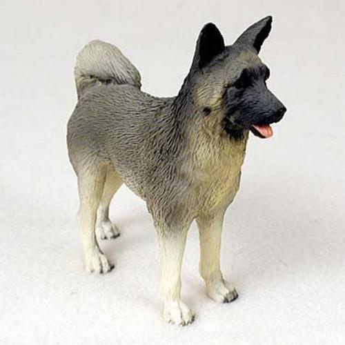 Akita Gray Figurine
