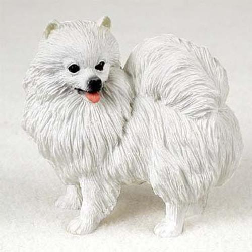 American Eskimo Miniature Figurine