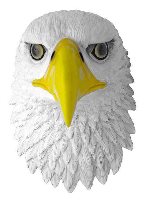 Bald Eagle Bust Wall Sculpture