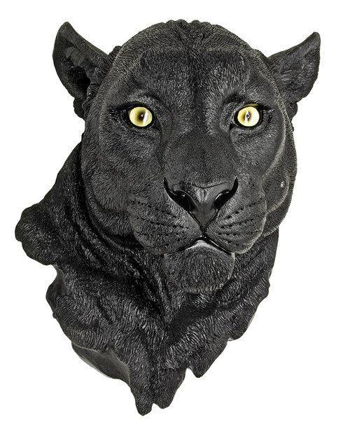 Black Panther Wall Sculpture