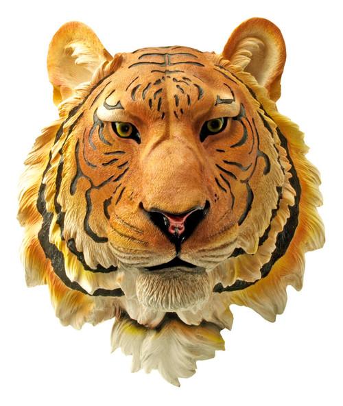 Orange Tiger Wall Sculpture