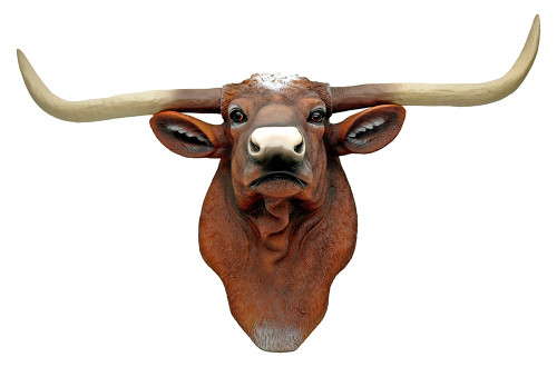 Longhorn Steer Wall Sculpture