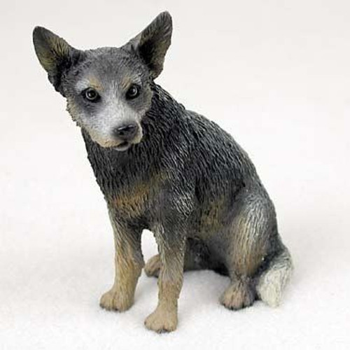 Australian Cattle Dog Blue Figurine