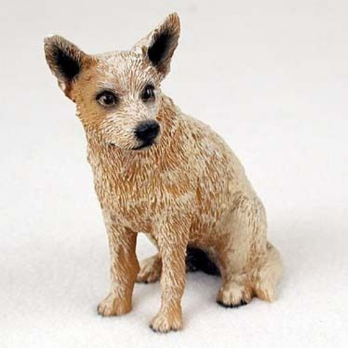 Australian Cattle Dog Red Figurine
